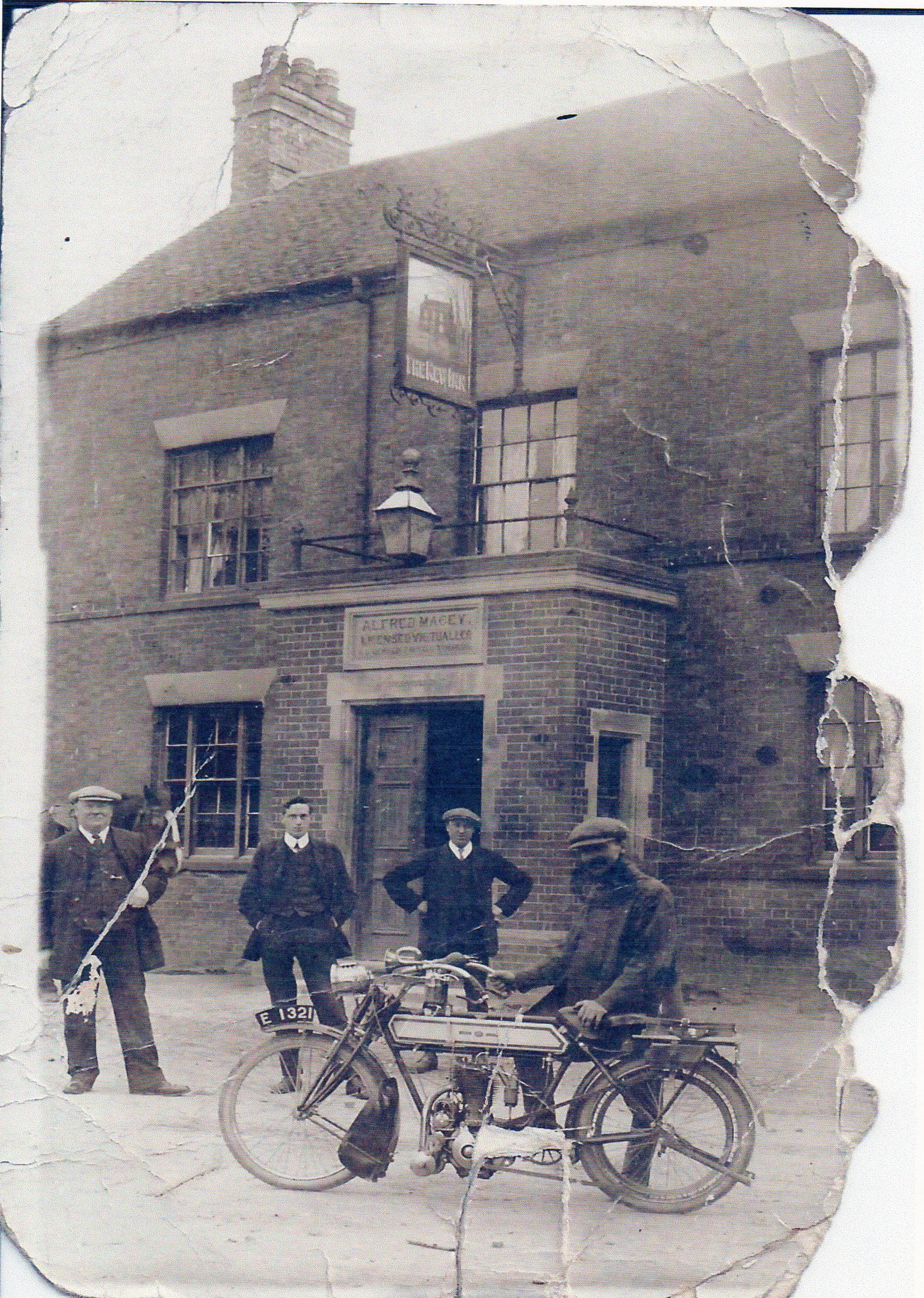New Inn Needwood 1911